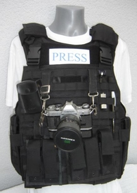 kogelwerende vest Journalist maat XL
